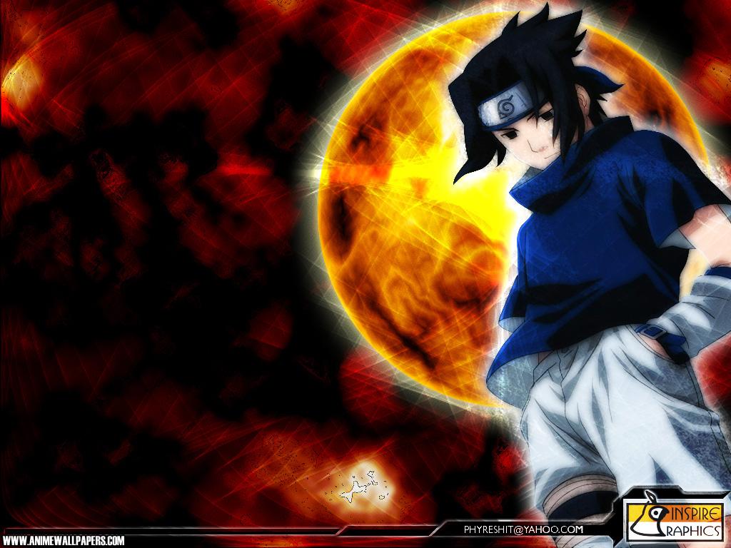 Imagens do Naruto e do Sasuke